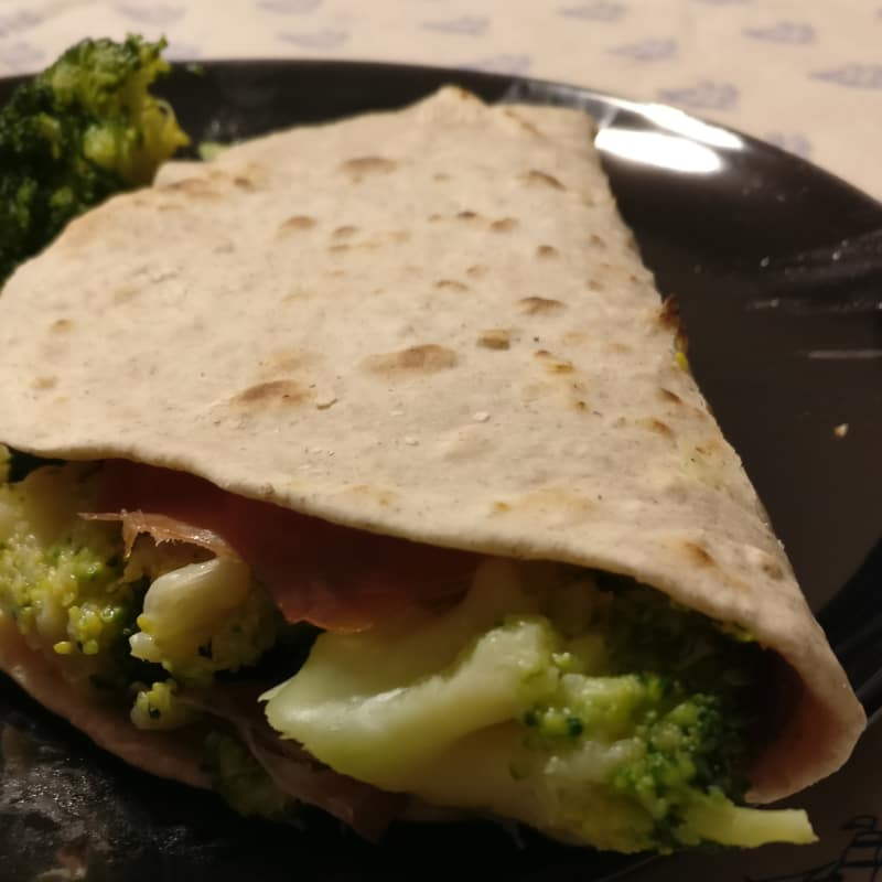 Piadina Semi Integrale Vegan