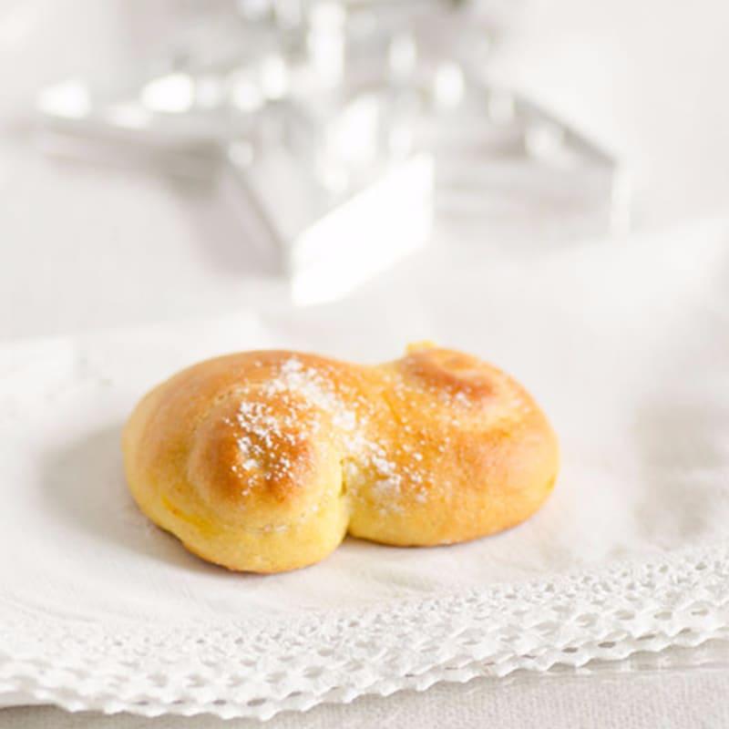 Muffins Santa Lucía (lussekatter)