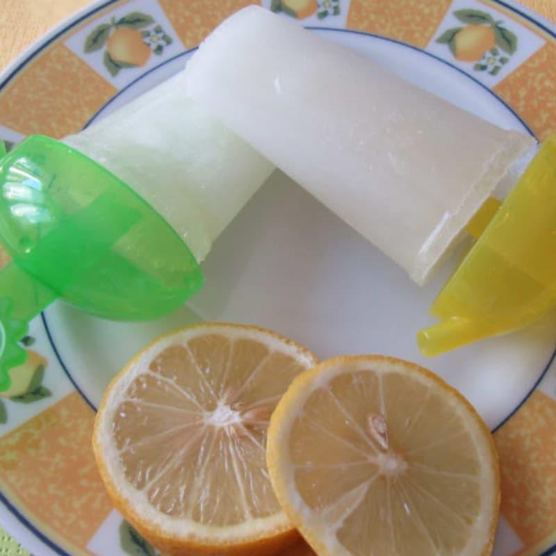 carámbanos limón