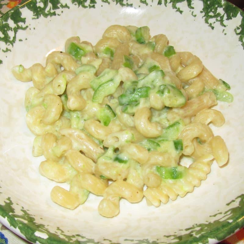 Pasta Zucchine e Philadelphia cremosa e leggera