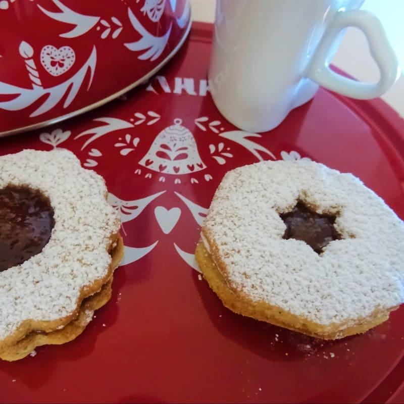 sin gluten pasta quebrada de Navidad
