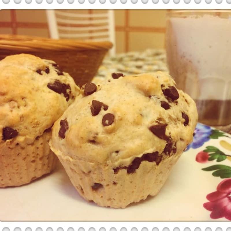 Muffin de dulce de azúcar y veganos