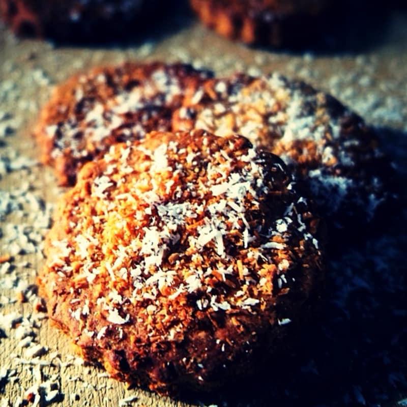 Galletas de coco vegano