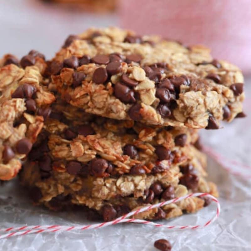 Galletas de mantequilla galletas de maní y chocolate