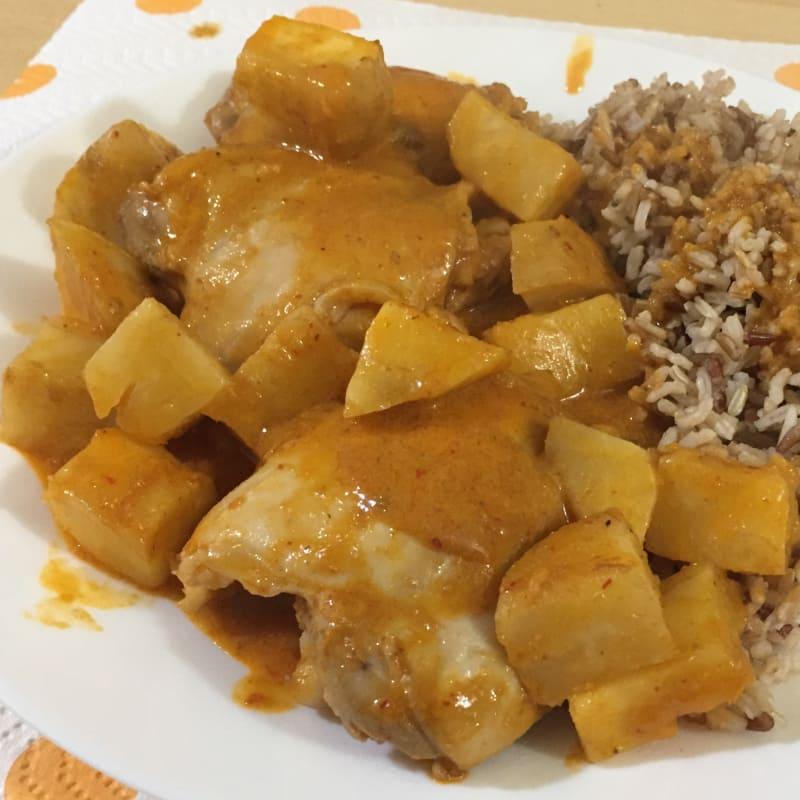 Red curry tailandés