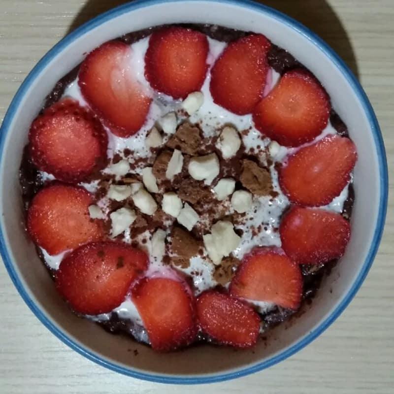 Fit layered pudding
