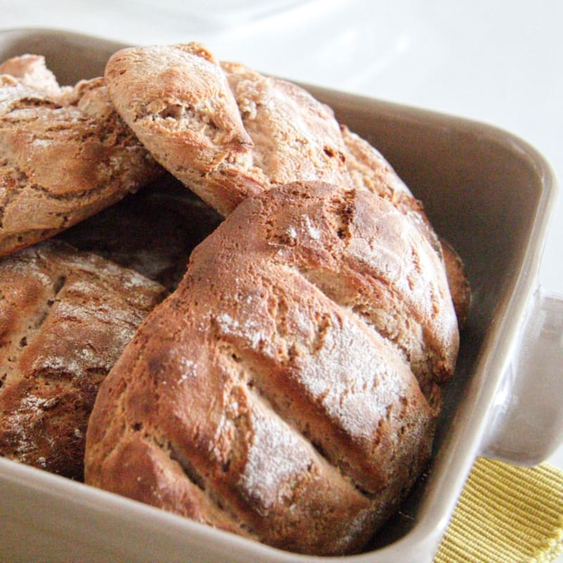 Panini alla farina di castagne (con Bimby)
