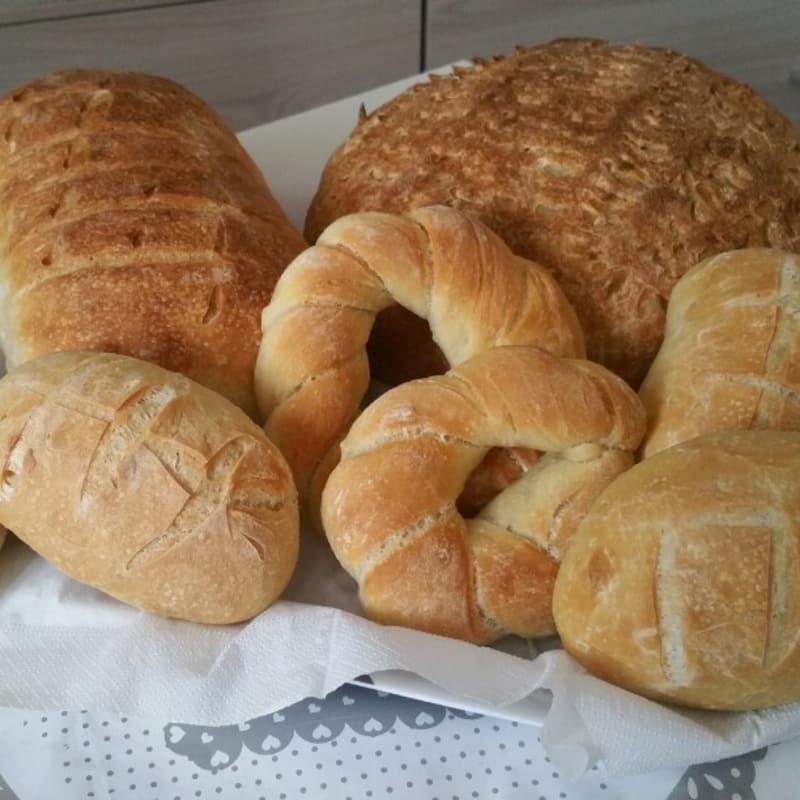 pan con levadura madre