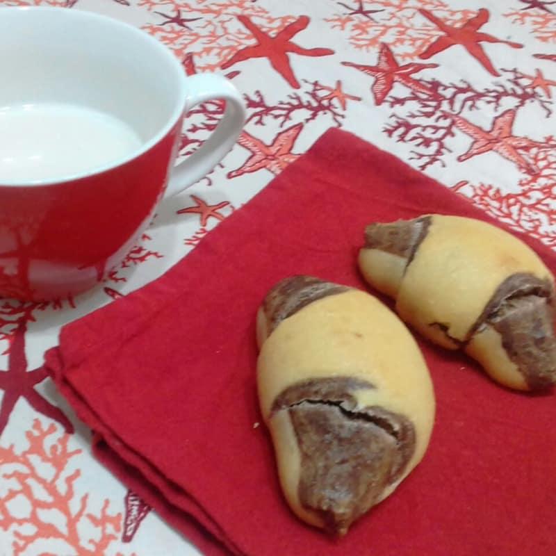 Croissant Bicolor All'olio E Lievito Madre...!!!