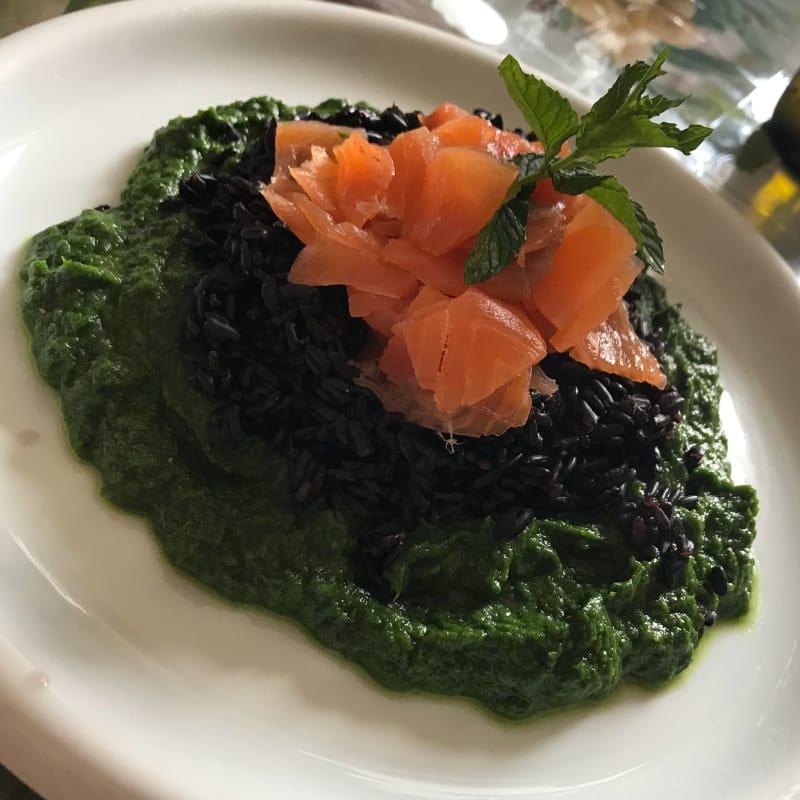 Venere e salmone