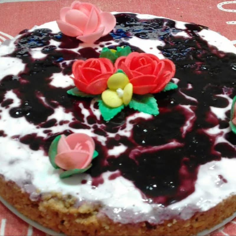 Cheesecake Alla Marmellata E Yogurt (senza Burro,panna,uova E Zucchero