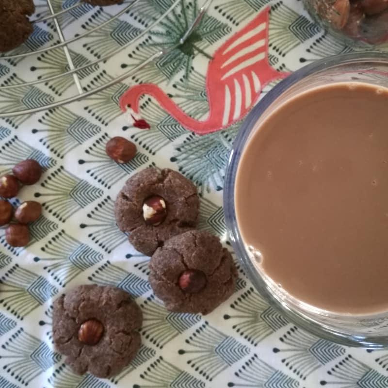 Bebida de avellana y cacao