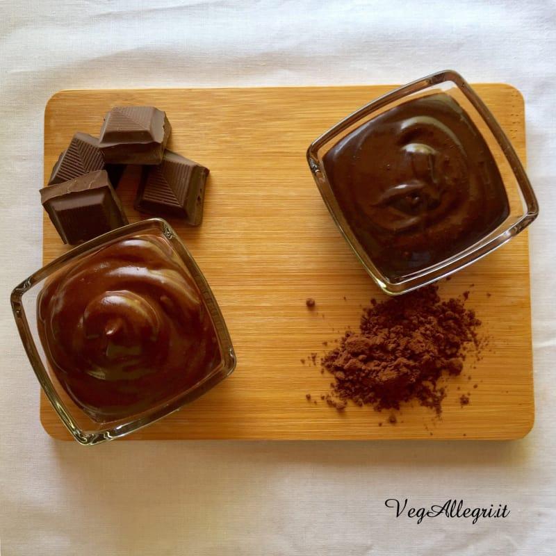 Crema Al Cioccolato E Crema Al Cacao