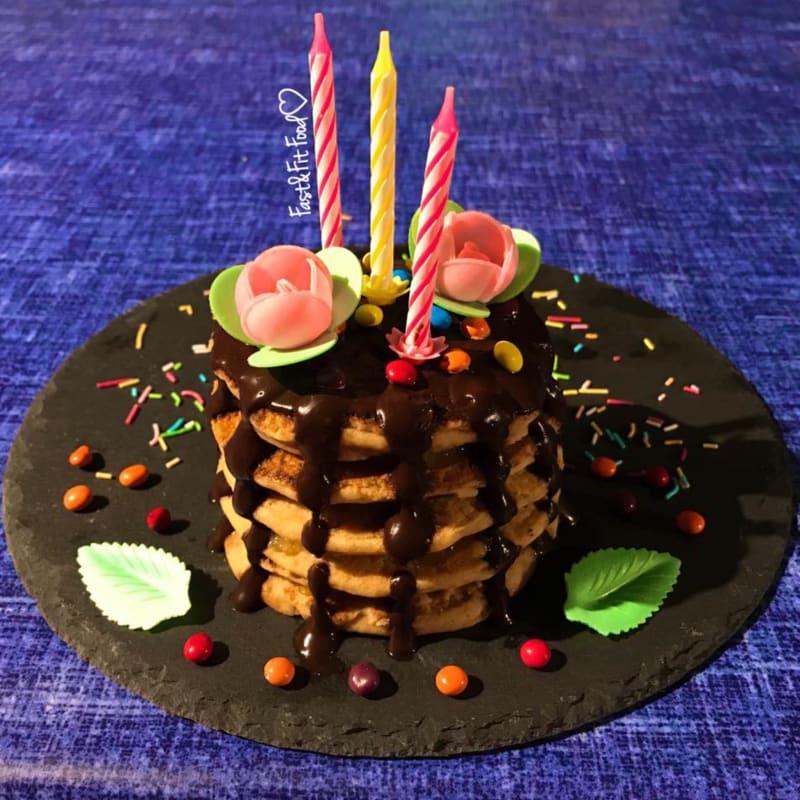 Panqueques de cumpleaños