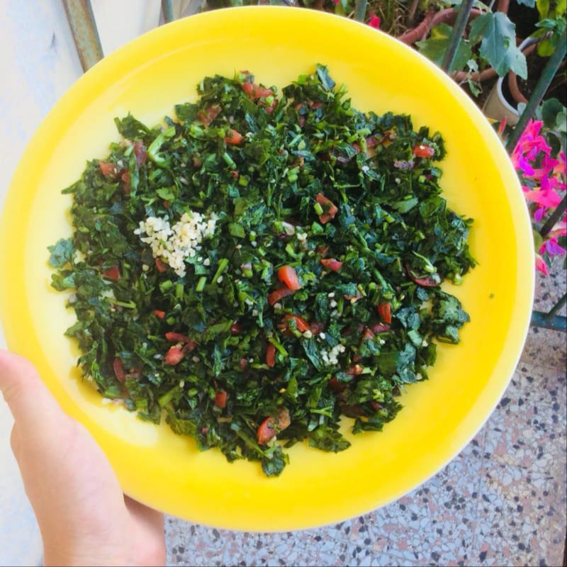 The real tabbouleh to the Lebanese