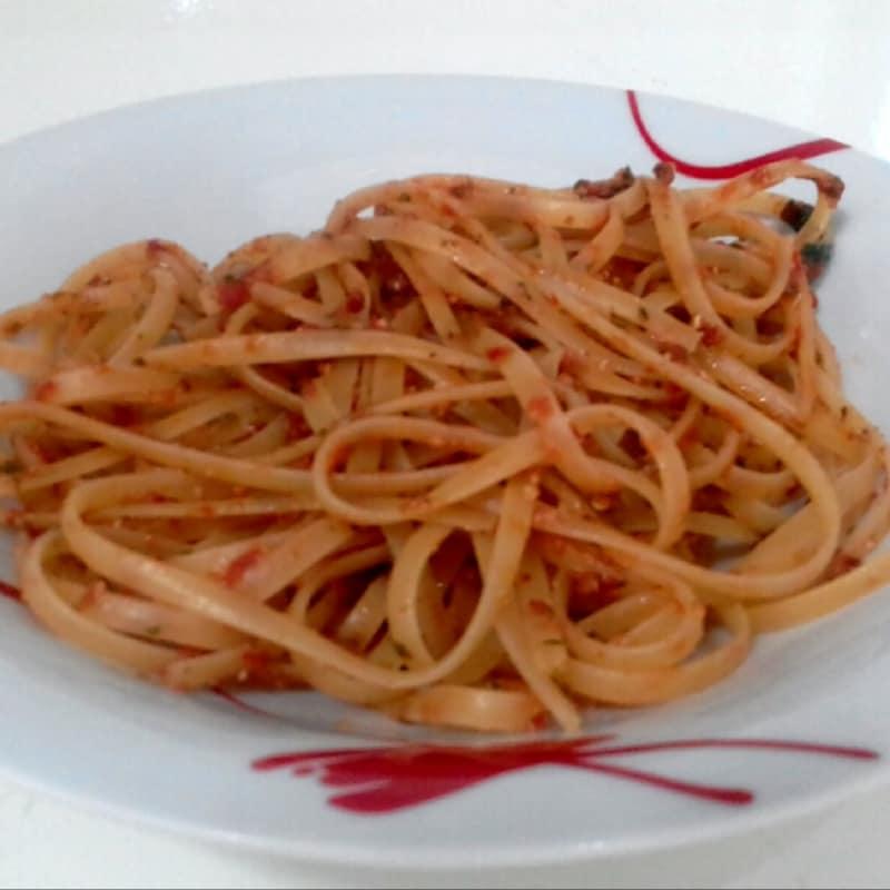 Bavette Al Pesto Alla Trapanese...!!!
