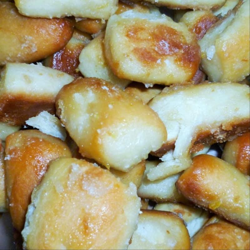 Tarallucci galletas glaseadas con limón