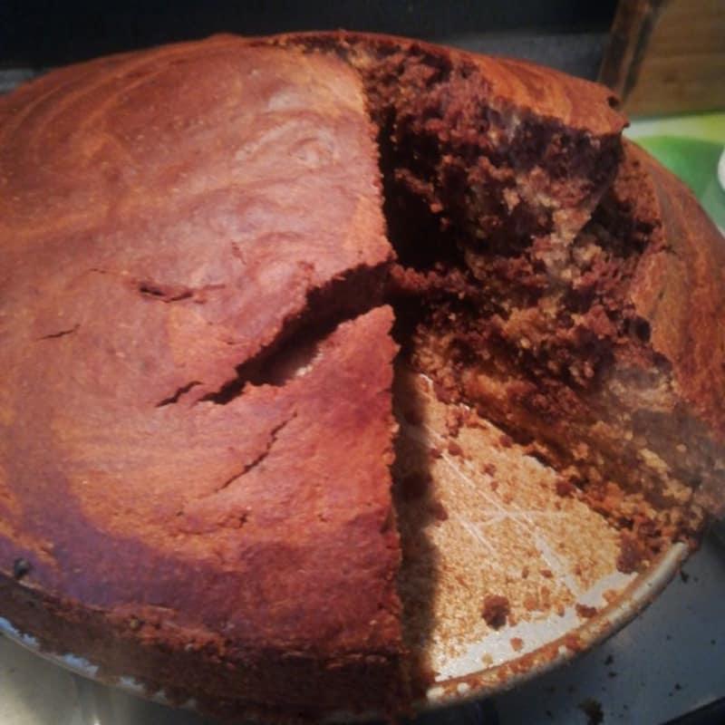 pastel de ciocofarro
