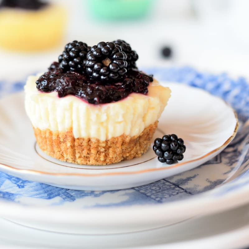 Mini Cheesecake without cooking