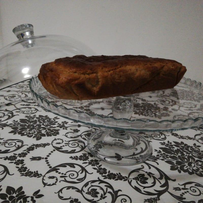 Plumcake con farina di castagne e arancia