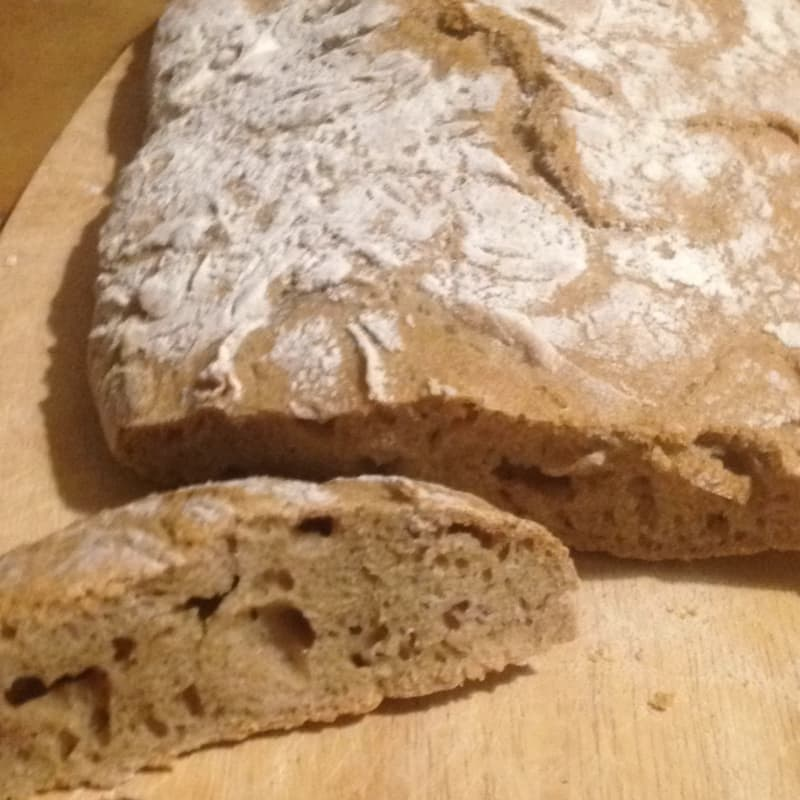 Pan de levadura madre