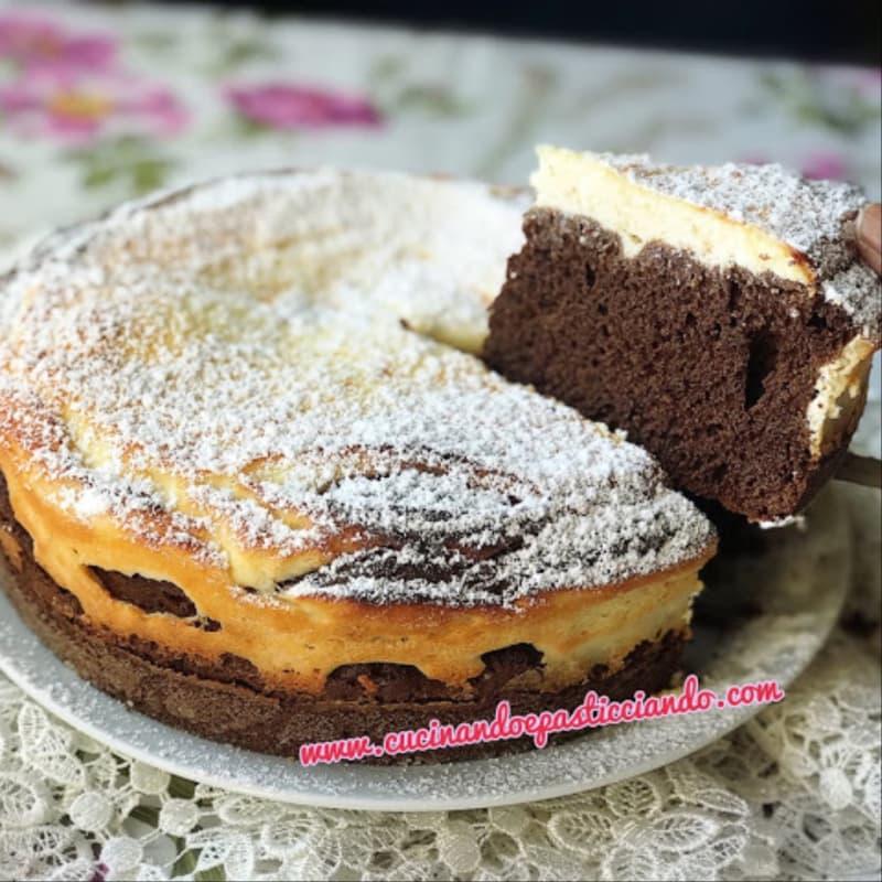 Tarta De Chocolate Con Crema De Ricotta
