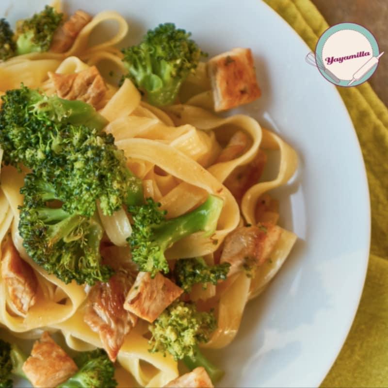 Pasta Light Chicken and Broccoli