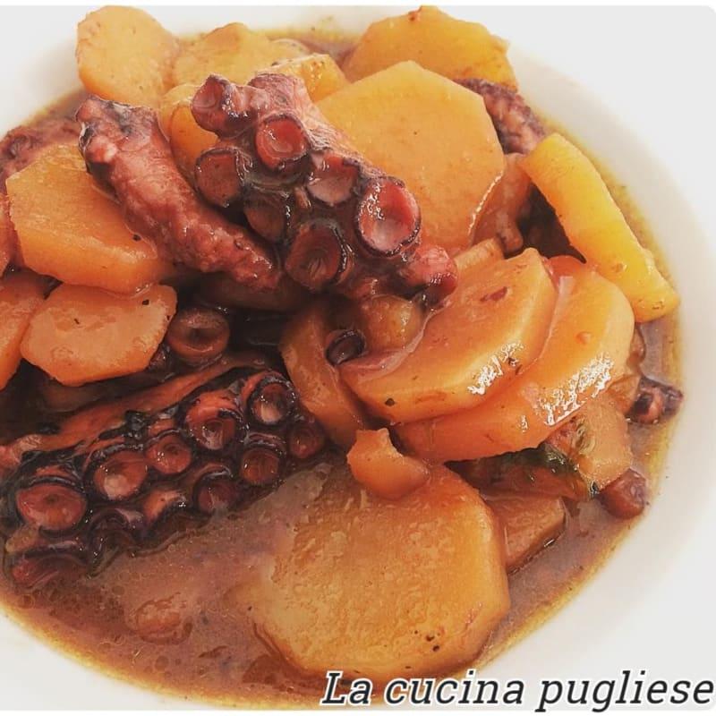 Pulpo Guisado Con Patatas