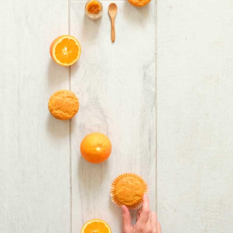 Muffin De Naranja Y Miel
