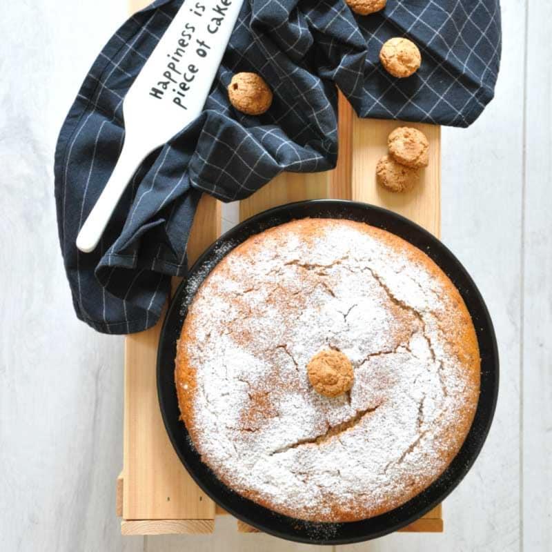 En la torta de macarrones