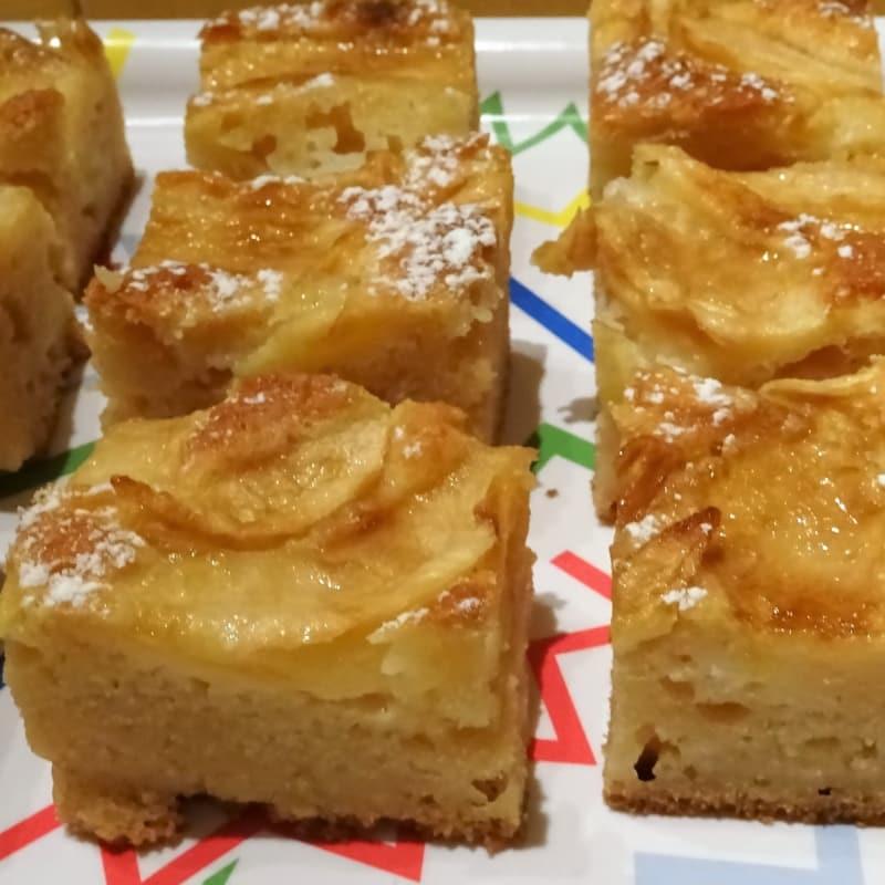 Cuadrados de manzana sin gluten