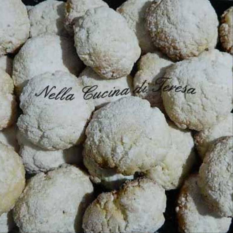 Biscotti Al Limone Semplici