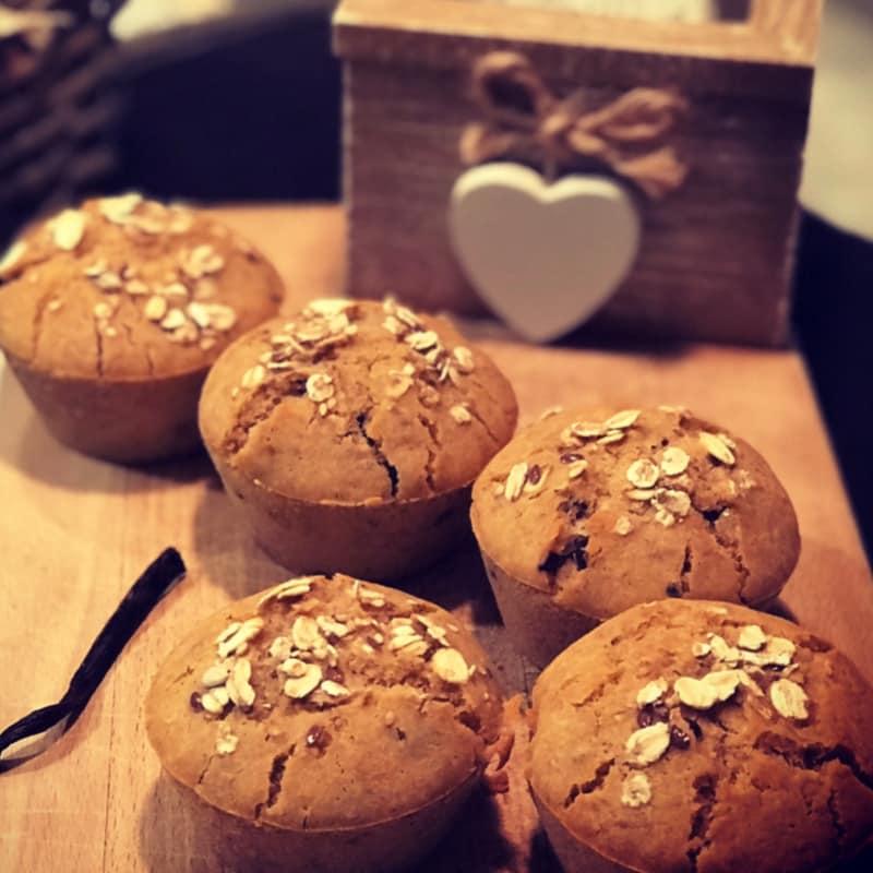 Muffin golosi senza glutine e senza zucchero