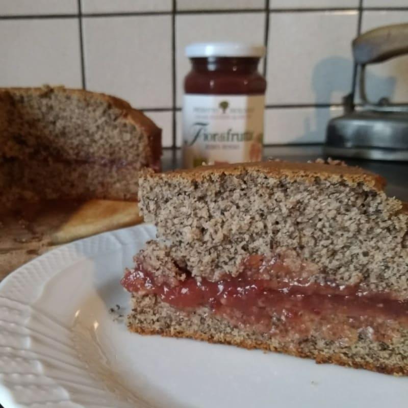 Torta vegan di grano saraceno