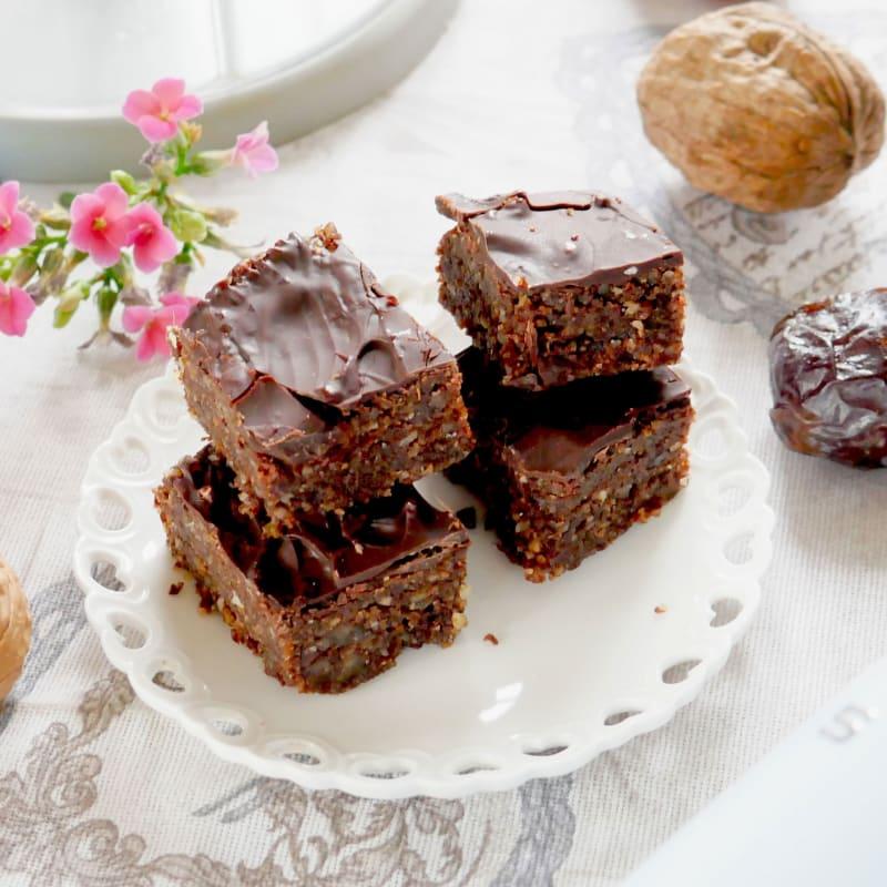 Brownies senza usare il forno
