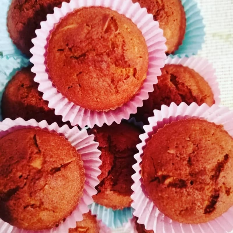 Muffins di carote gluten free