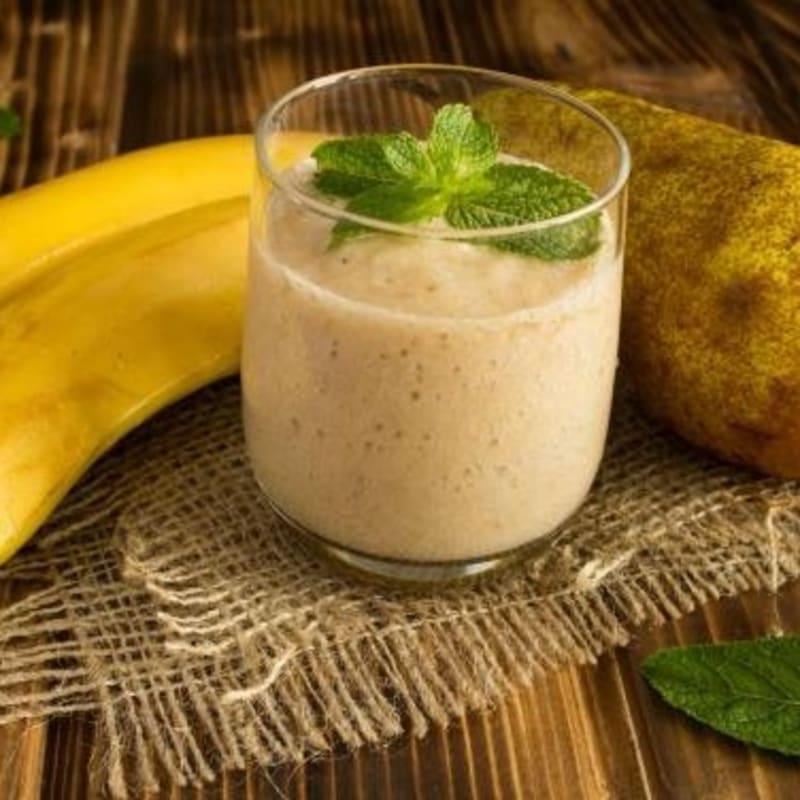Banana and pear centrifuge against gastritis