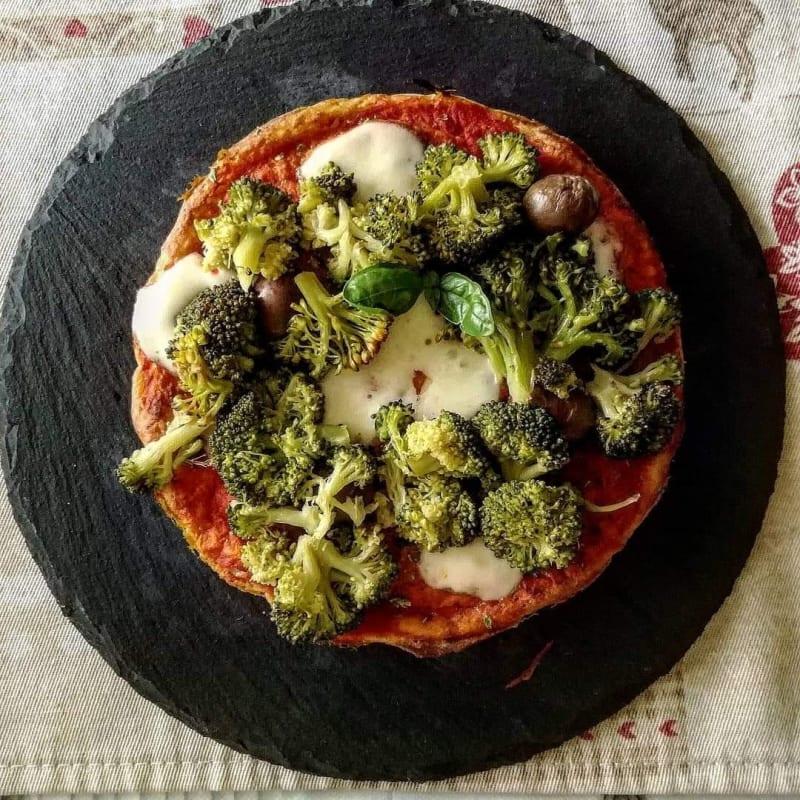 Pizza fit allo skyr