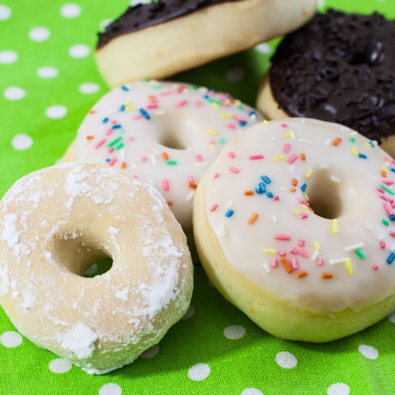 Los donuts!
