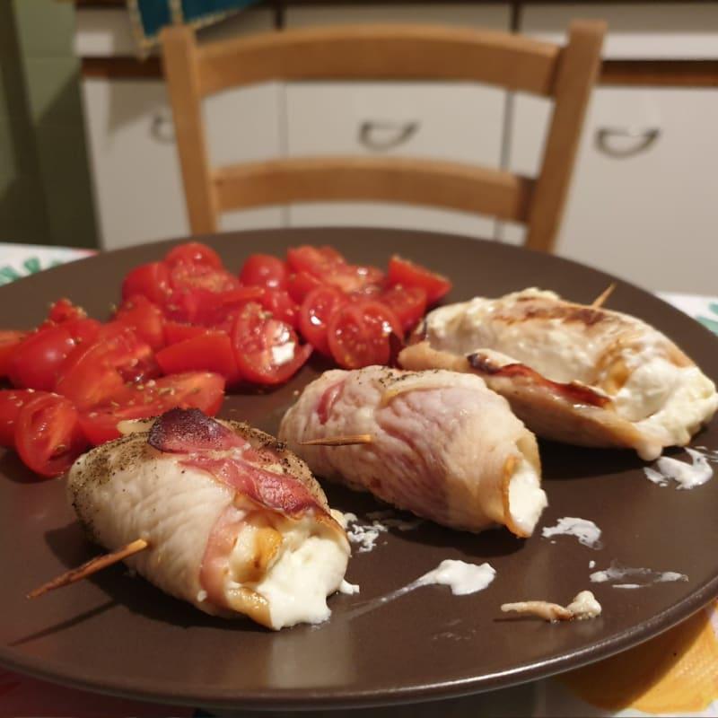 Rollitos de pollo al horno deliciosos
