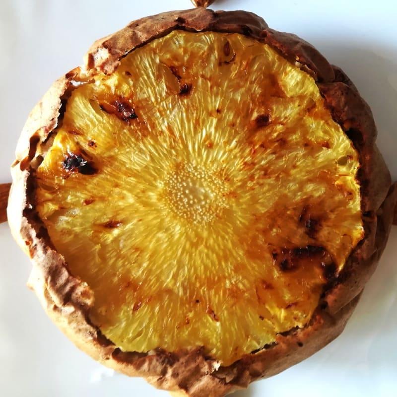 Pancake all'ananas rovesciato