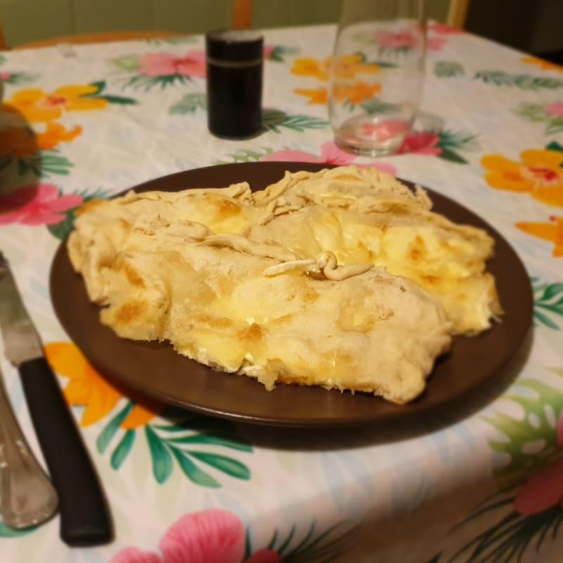 Focaccia al formaggio di recco (ricetta originale)