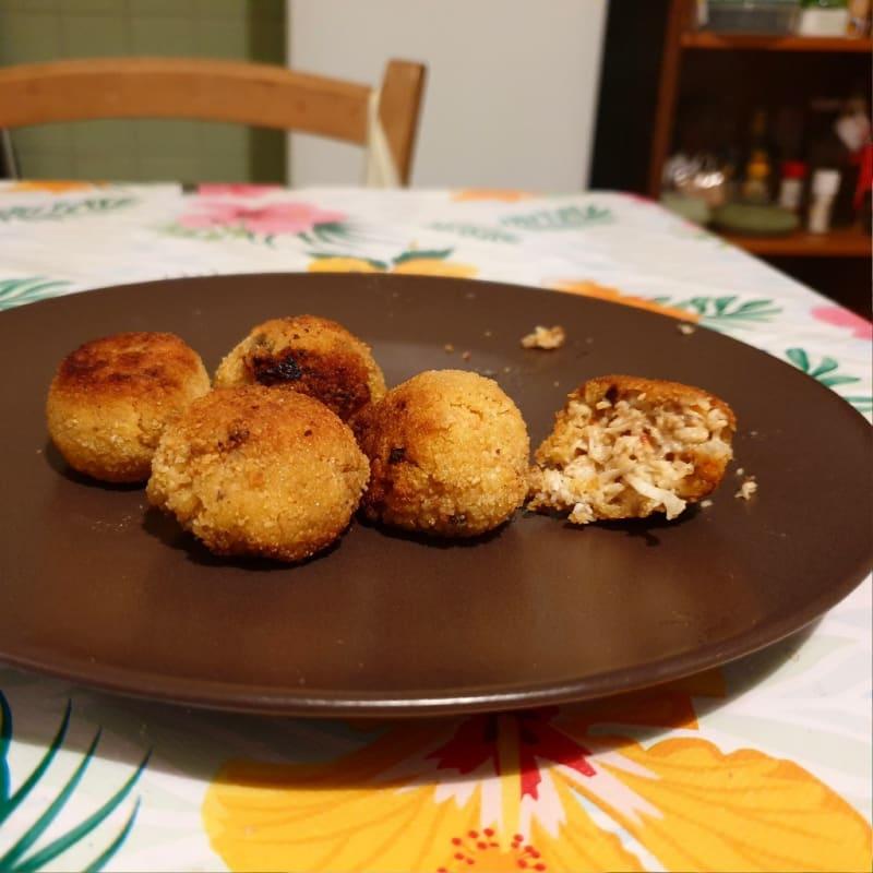 Crocchette di granchio e verdure