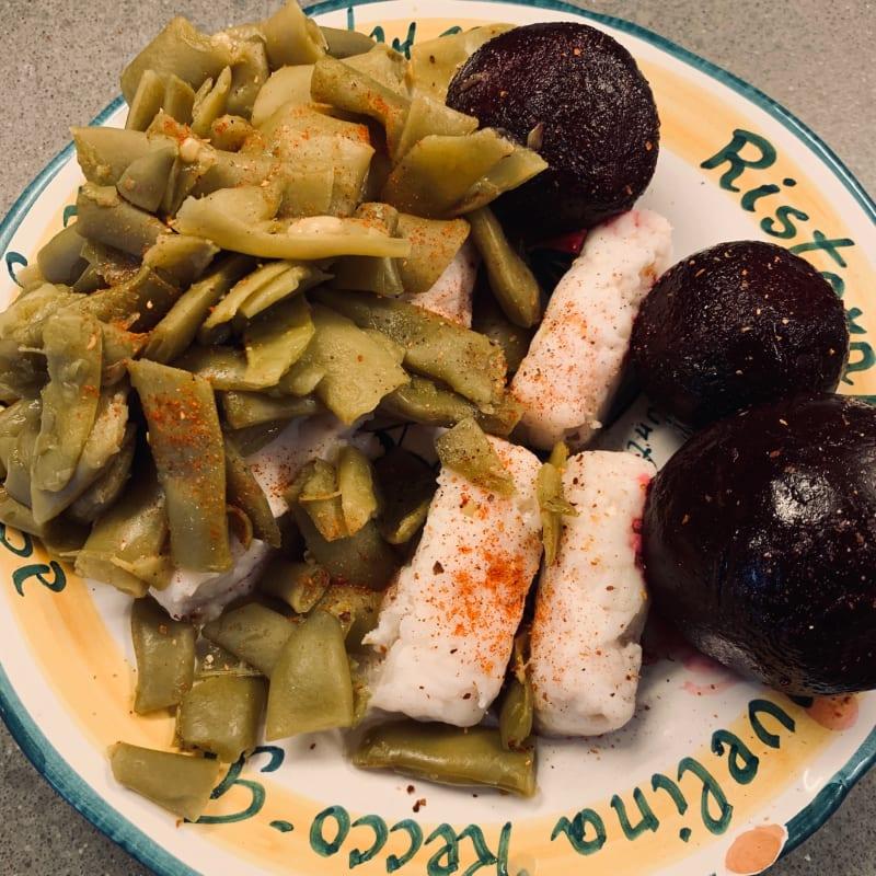 Bacalao Con Verduras