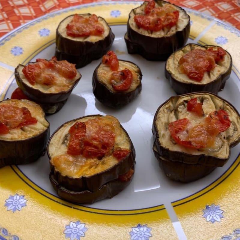 Parmigiana light finger food