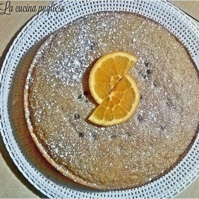 Torta all'arancia light