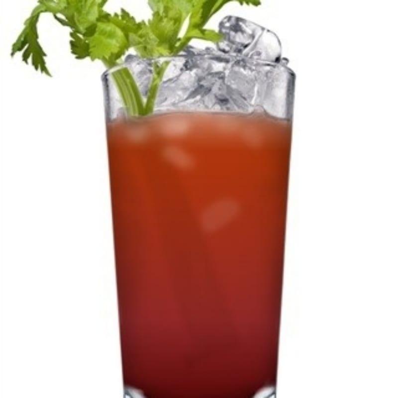 Drink di pomodoro e pera