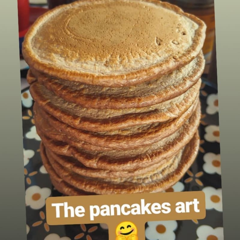 Pancake senza Zucchero