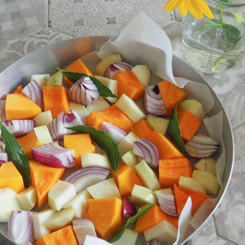 Misto di verdure autunnali al forno
