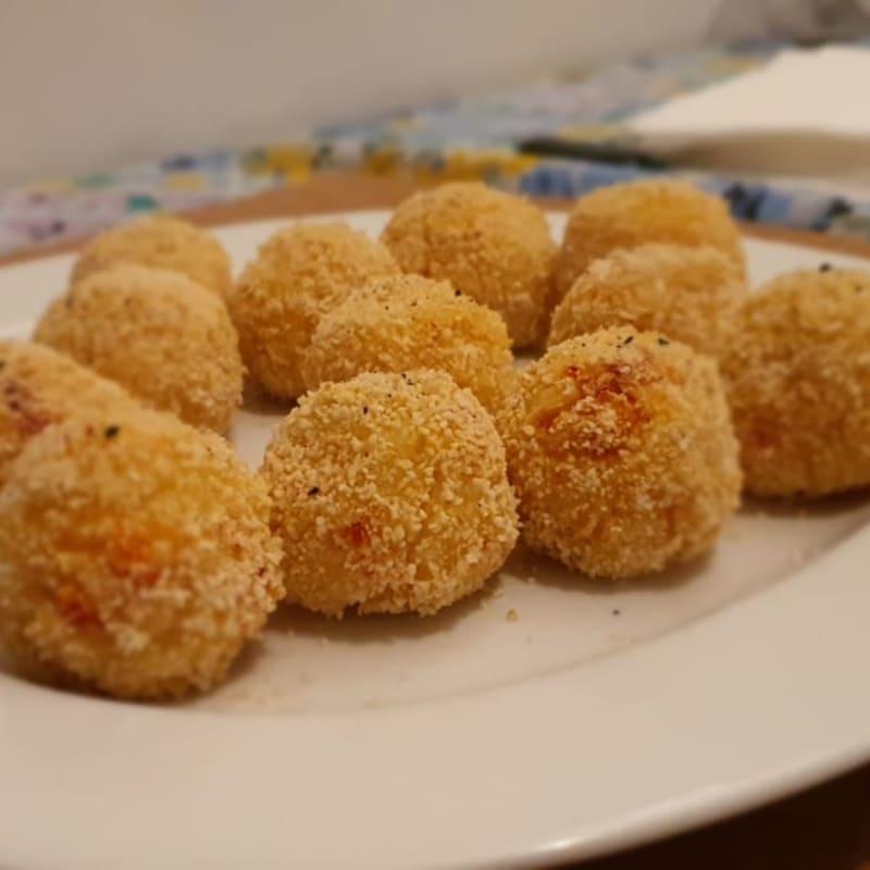 Polpette light di granchio e patate